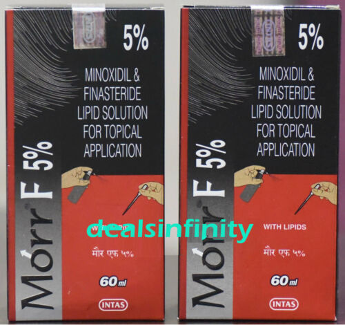 Buy Pack 2 X New Morr F 5 Hair Regrowth Fda Approved Dht Blocker 60 Ml Free Ship Online In Egypt 223314847160
