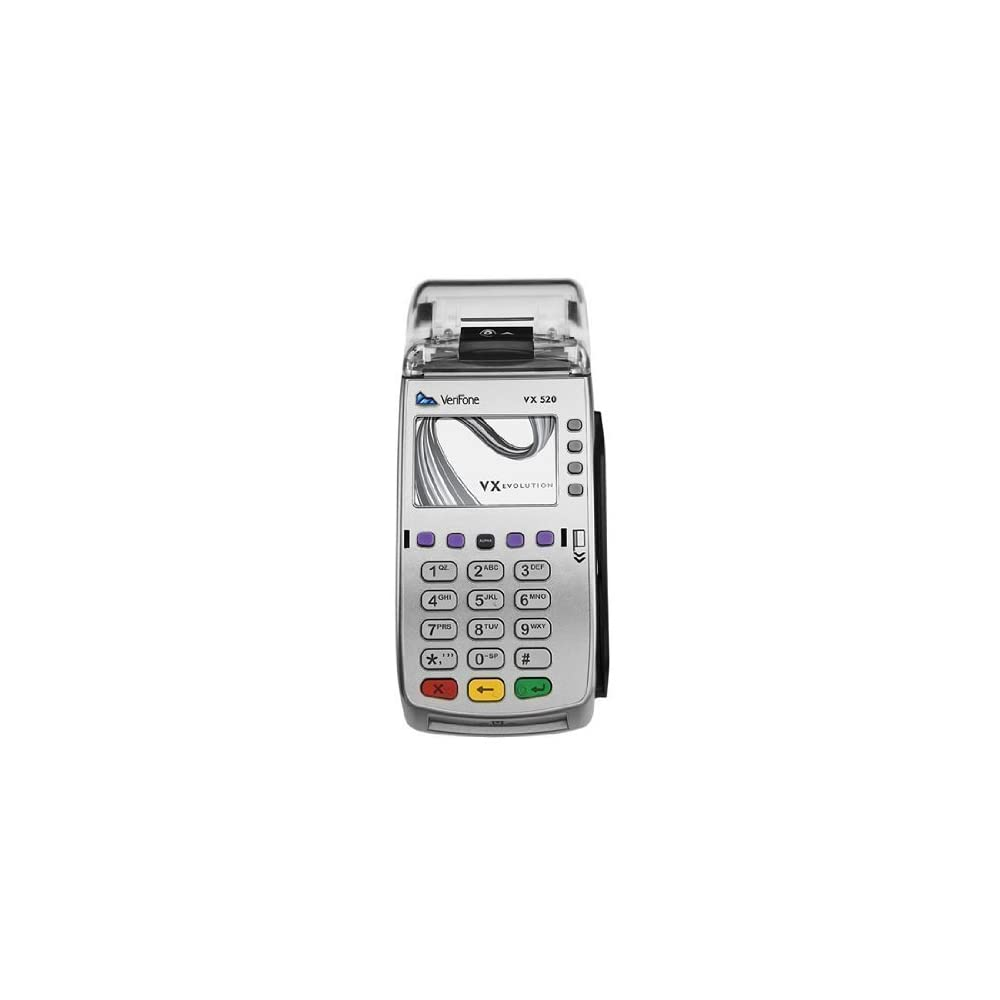Verifone VX520 Dual Comm Credit Card Machine- With Smart ...