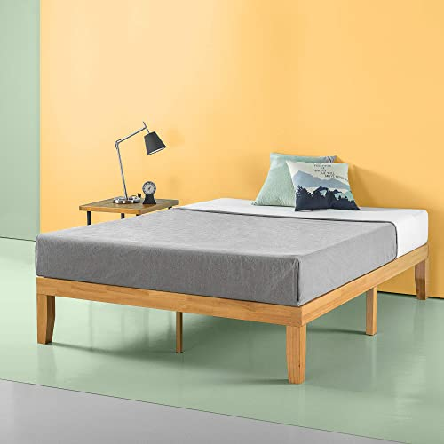 Zinus Frame 14 Inch Platform Bed No, Queen Bed No Box Spring