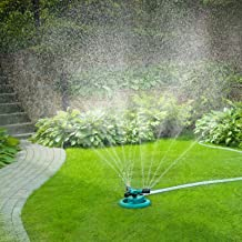 Garden Sprinkler 360 Degree Automatically Rotating Watering Sprinklers for Garden Sprinklers Rotating Irrigation System for Garden Yard Kids C-Meduo Lawn Sprinkler